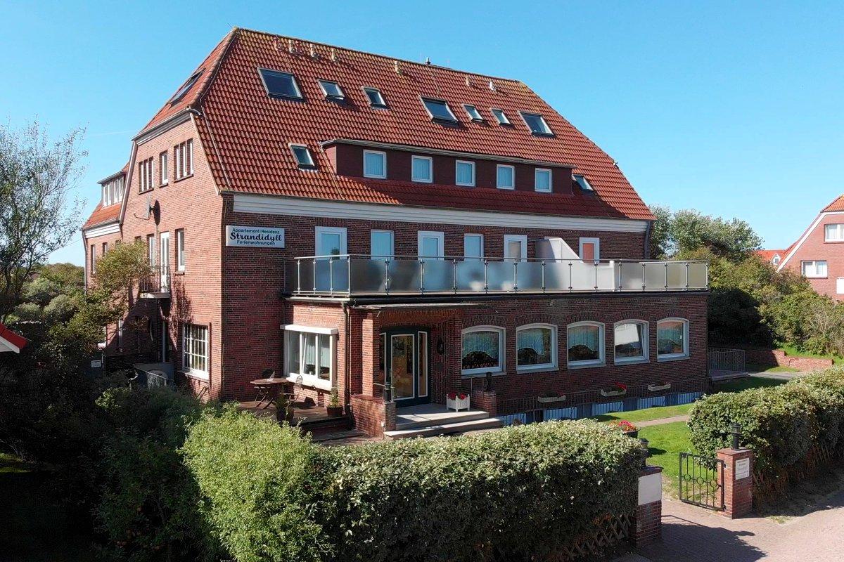 Unsere Ferienhäuser Wohnungen Nordsee Insel Baltrum